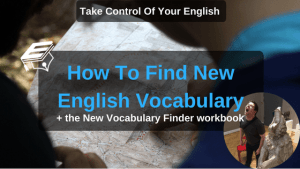 find new vocabulary