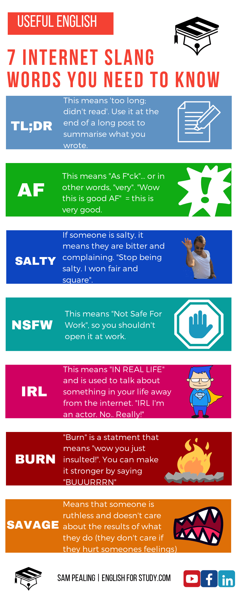 Internet slang meaning