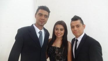 Alex,Rocio and Cristian,Conversation Group,May 2015