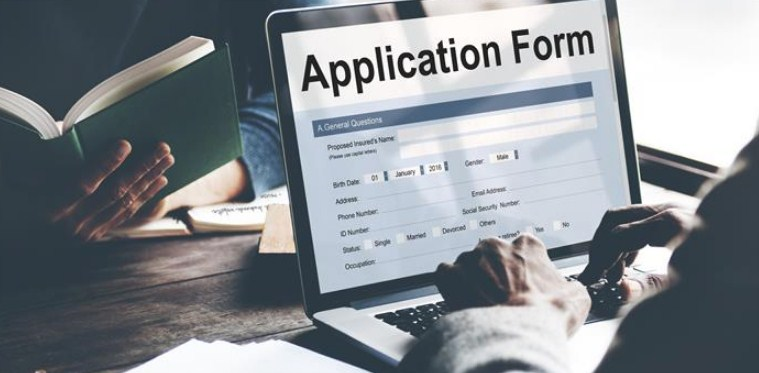 Type of application forms and format