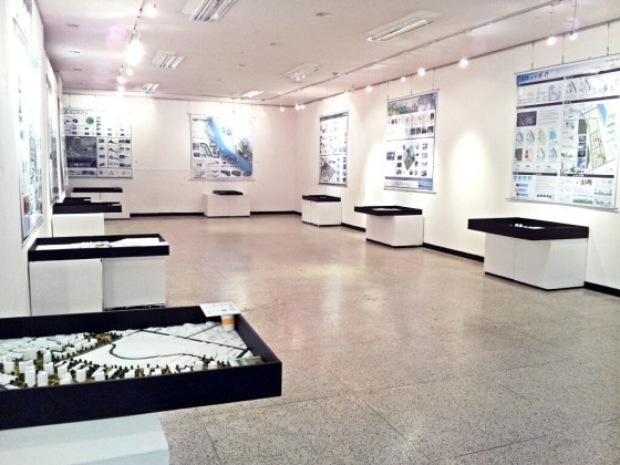 Kangnam University Urban Planning Graduate Exhibition