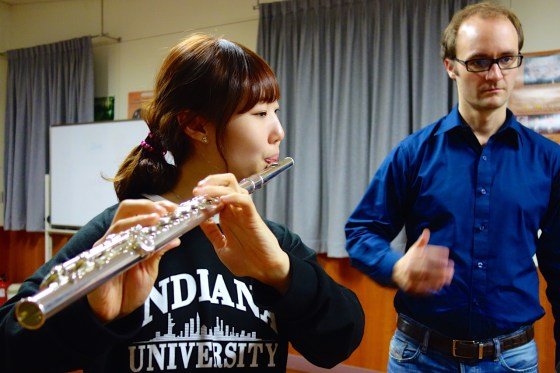 GSMW flute student joins Yongin orchestra