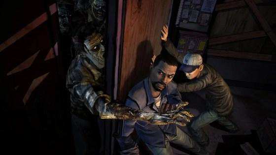 A screenshot from Telltale Games' The Walking Dead (SOURCE: destructoid.com)
