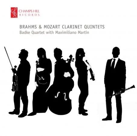 Badke Quartet with Maximiliano Martín - Brahms and Mozart Clarinet Quintets