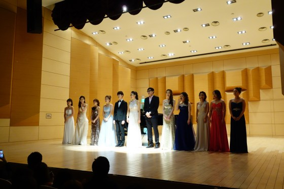 Kangnam University Department of Music 2013 Graduation Orchestral Concert, 14 Nov 2013. (Photo: Charles Ian Chun)