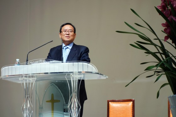 President Yoon welcomes faculty and staff at opening ceremony