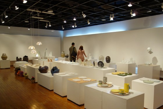 Kangnam University's 20th Ceramic Design Graduation Exhibition at the Korea Craft & Design Foundation Gallery in Insa Dong (Photo: Charles Ian Chun)