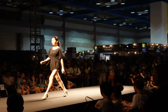 A runway show at Korea Style Week, COEX (PHOTO: Charles Ian Chun)