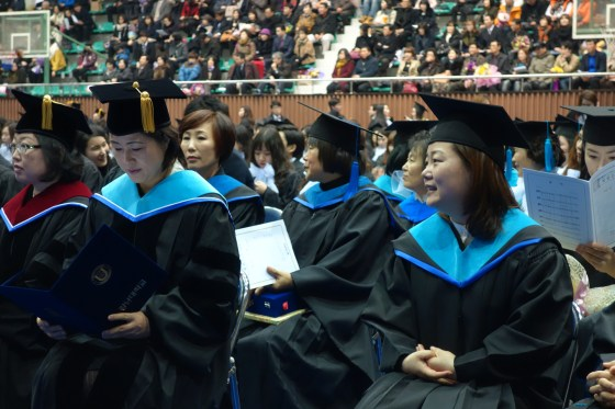 2013 Graduation Ceremony, Kangnam University, 20 Feb 2014. (Photo: Charles Ian Chun)