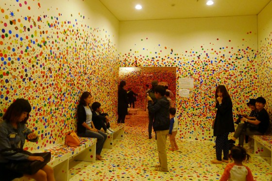 Obliteration Room by Kusama Yayoi, Daegu Art Museum. (Photo: Lee Su-hyun)