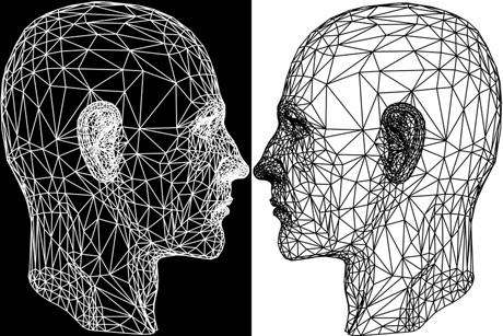 Image result for black and. white psychology