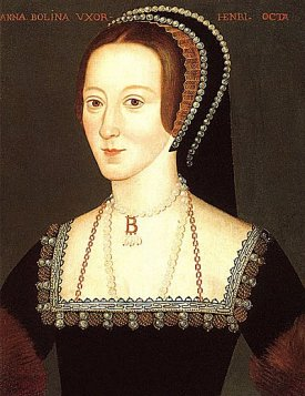 the most famous portrait of Anne Boleyn; at the NPG, London