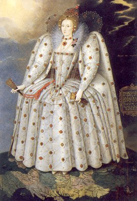 'The Ditchley Portrait' of Elizabeth I