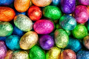 Lots of yummy Easter eggs