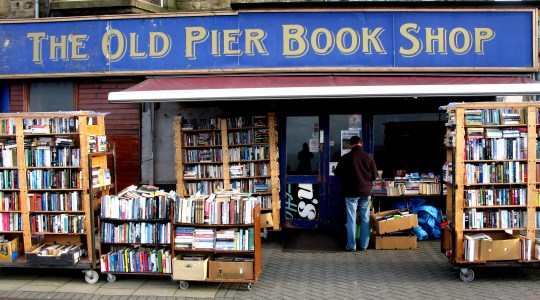 The Old Pier Book Shop in Morecambe
