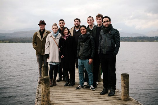 The Pitch Finalists at Low Wood Bay