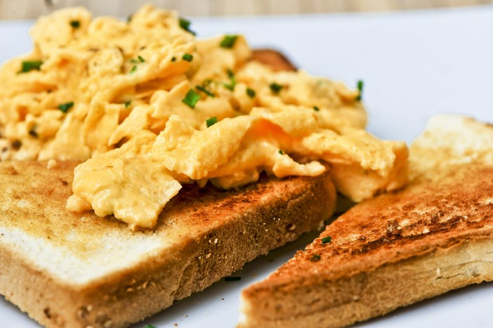 Have a good breakfast at least three hours before you swim