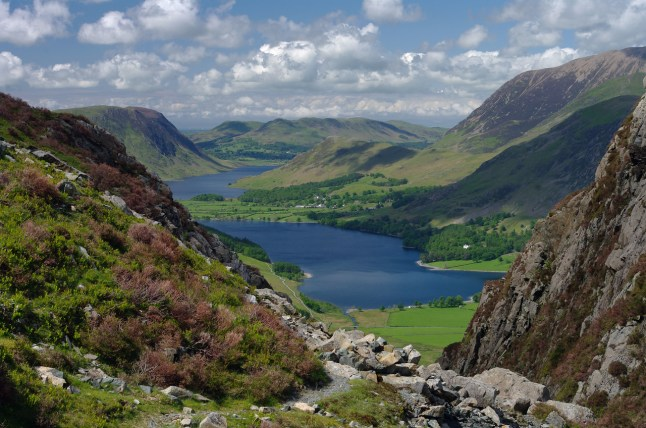 Buttermere from near Fleetwith pike by Nicola Garnham