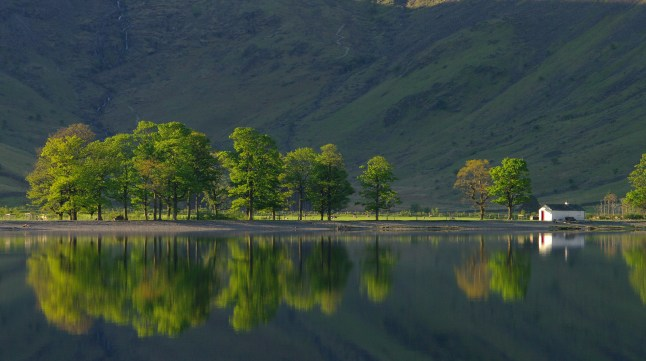 Dawn on Buttermere by Nicola Garnham