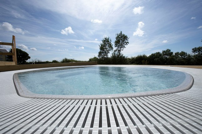 Outdoor Hot Tub at Lancaster House