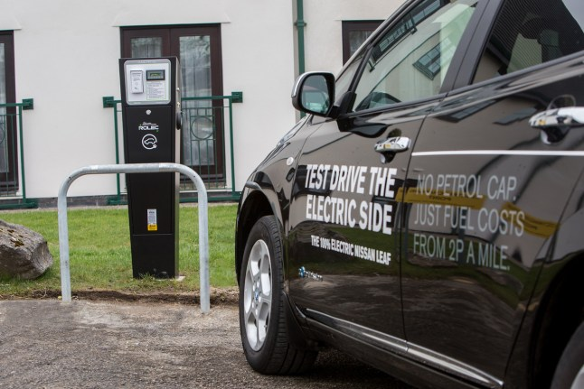 Electric Car Charging Points at Lancaster House