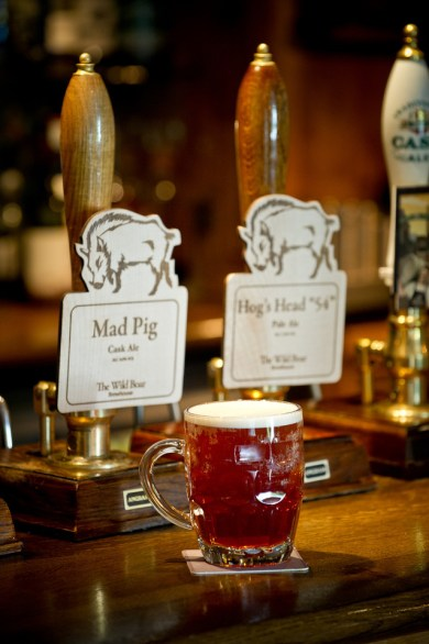 The Wild Boar: Own Brewed Ales