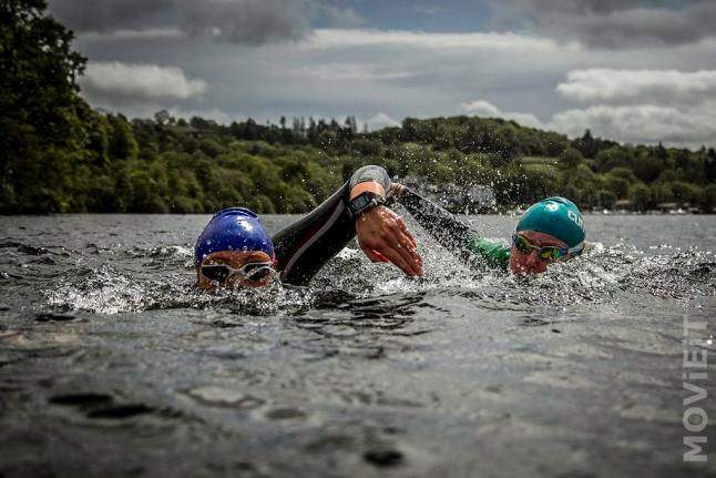 Training in Windermere. Photo be: MOViEIT