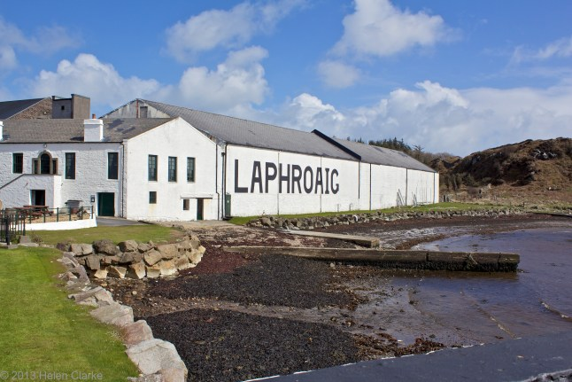 Laphroaig Distillery, Islay (Photo credit: helen_1977)