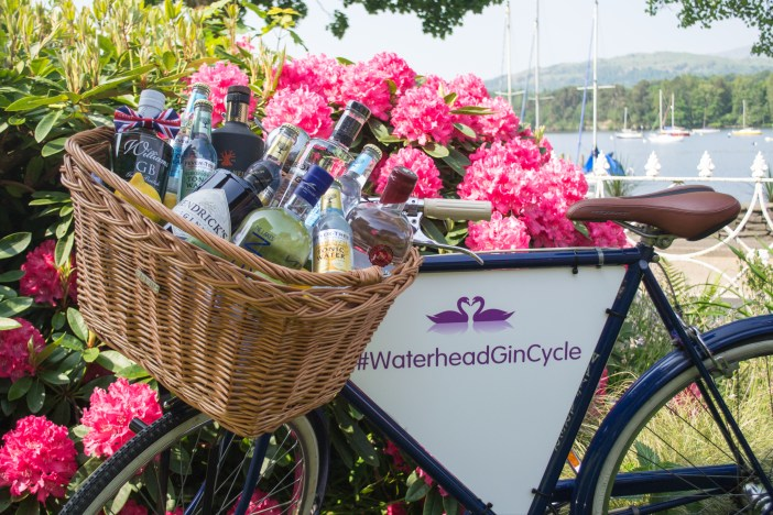 Waterhead Gin Bike is out and about in South Lakes