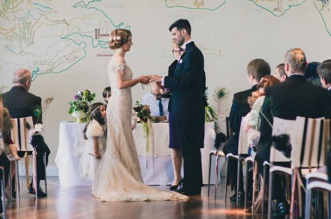 The wedding of John Kitts and Carly Robb at The Midland