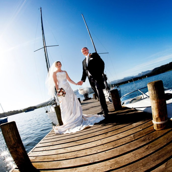 Nevil, General Manager and Gemma, Wedding & Events Manager, Low Wood Bay