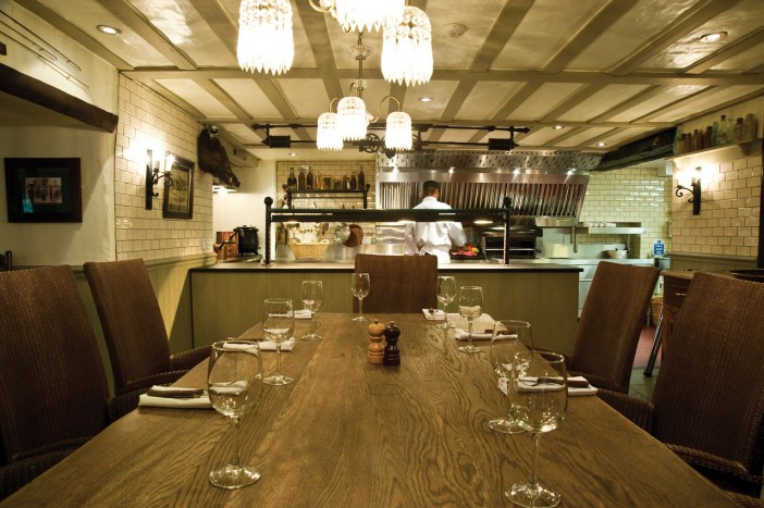 The Chefs Table at The Wild Boar Grill