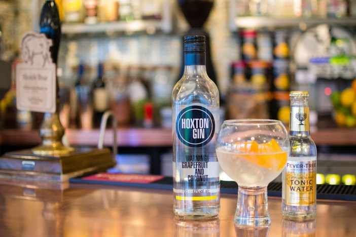 Hoxton Gin at Waterhead Bar & Grill