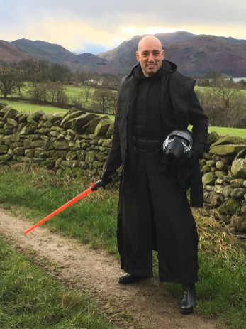 Colin Hill, Dark Lord and organiser of the Chill Swim