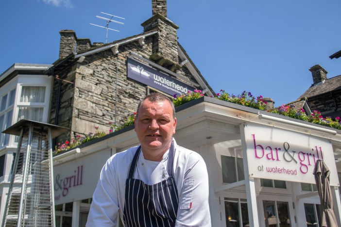 Nick Martin - Head Chef at Waterhead and Jessica and Rachel's mentor
