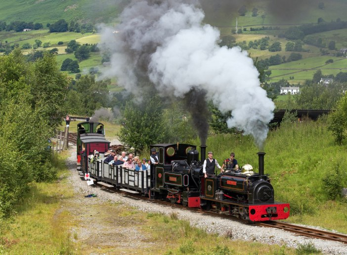 Threlkeld Quarry & Mining Museum - 2015 steam gala / CC 2.0 TheTurfBurner
