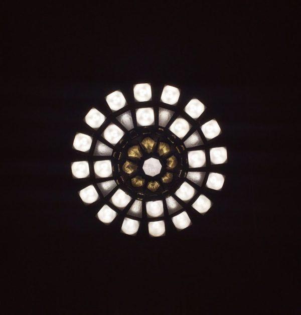 Lights inside Union Station