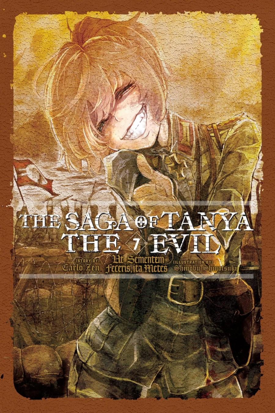 The Saga of Tanya the Evil Volume 7 cover