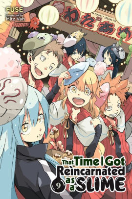That Time I Got Reincarnated as a Slime Volume 9 Cover