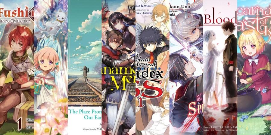 Light Novel Series Debuting November, 2020 Banner Image