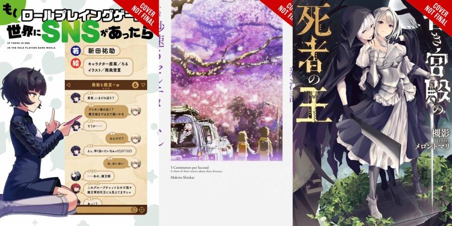 Yen Press Announces Eleven New Titles for Future Publication Banner Image