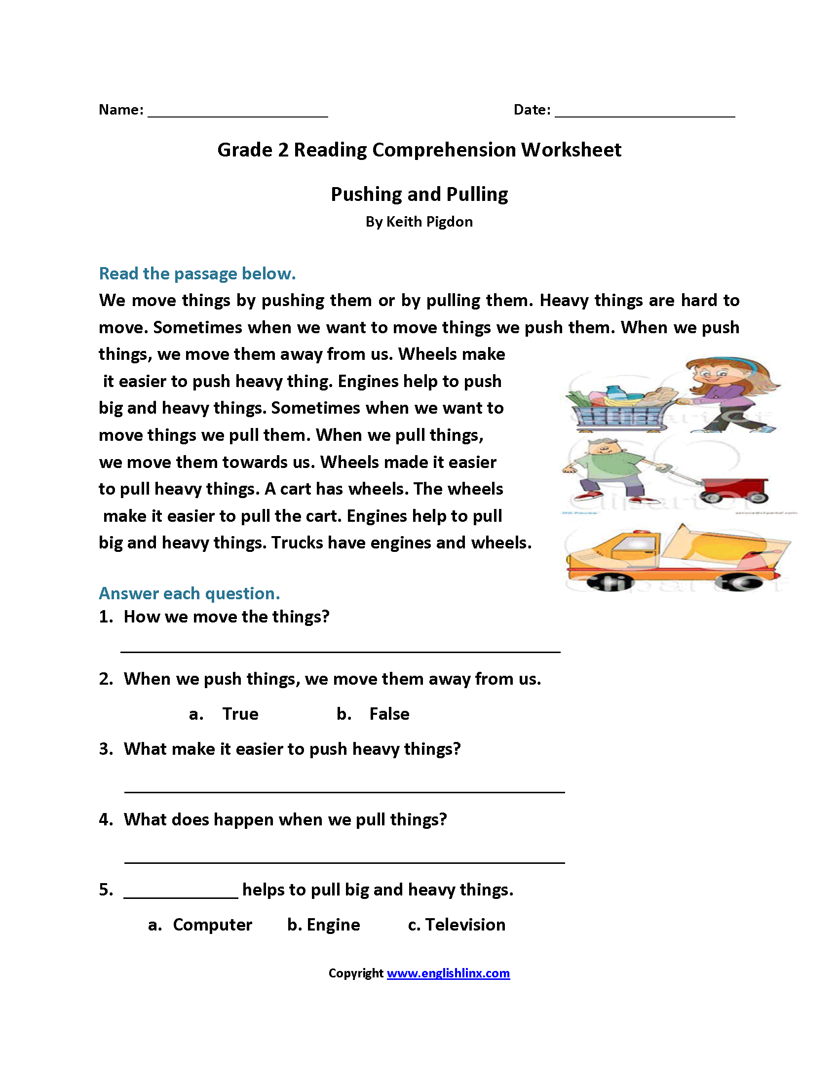 Adapt Animals 2nd Grade Worksheet