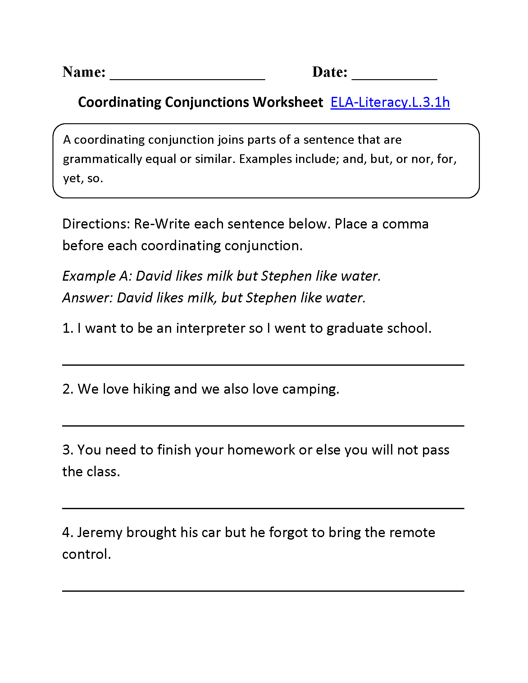 Year 3 Coordinates Worksheet