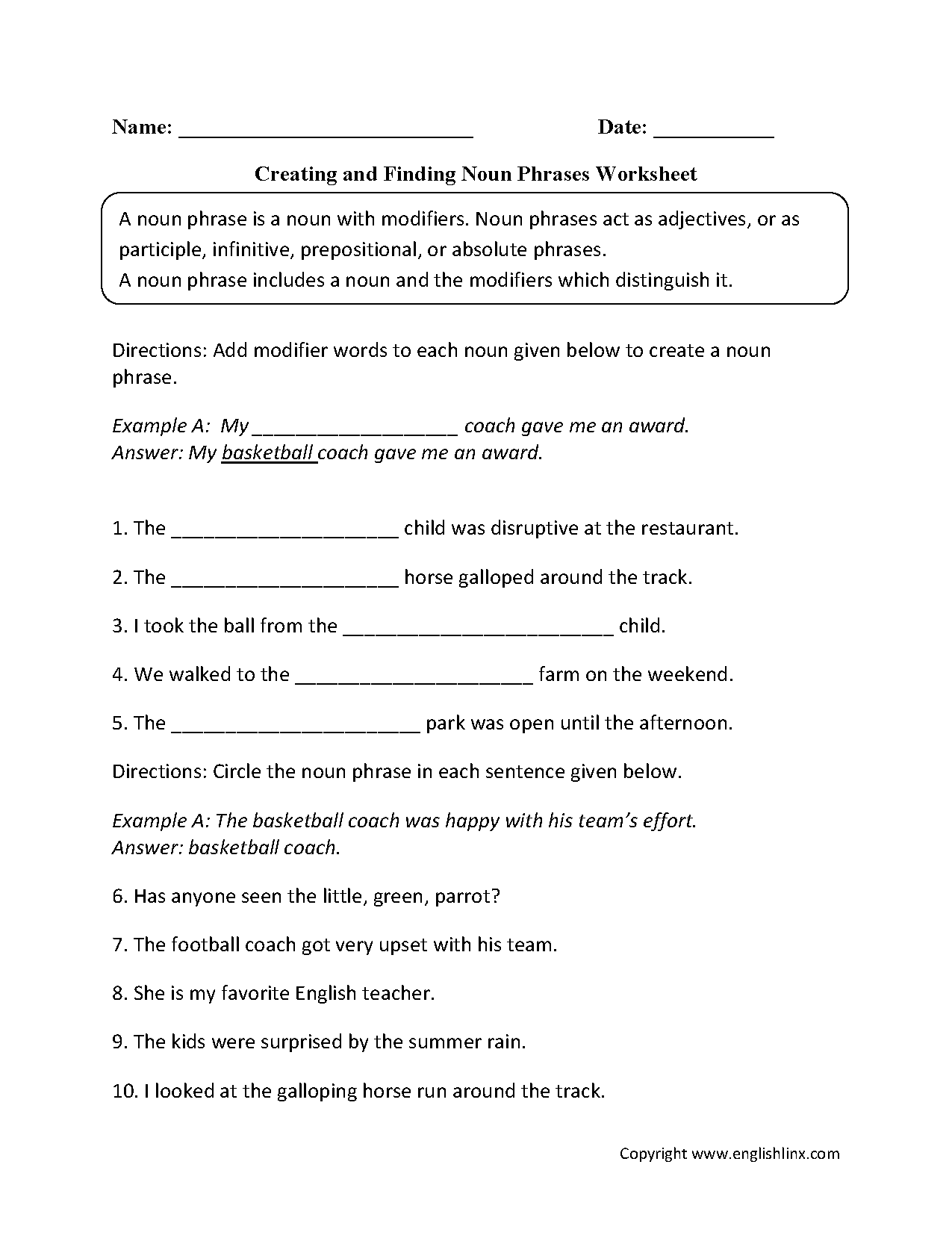 Identifying Lines Answer Worksheet Fifth Grade