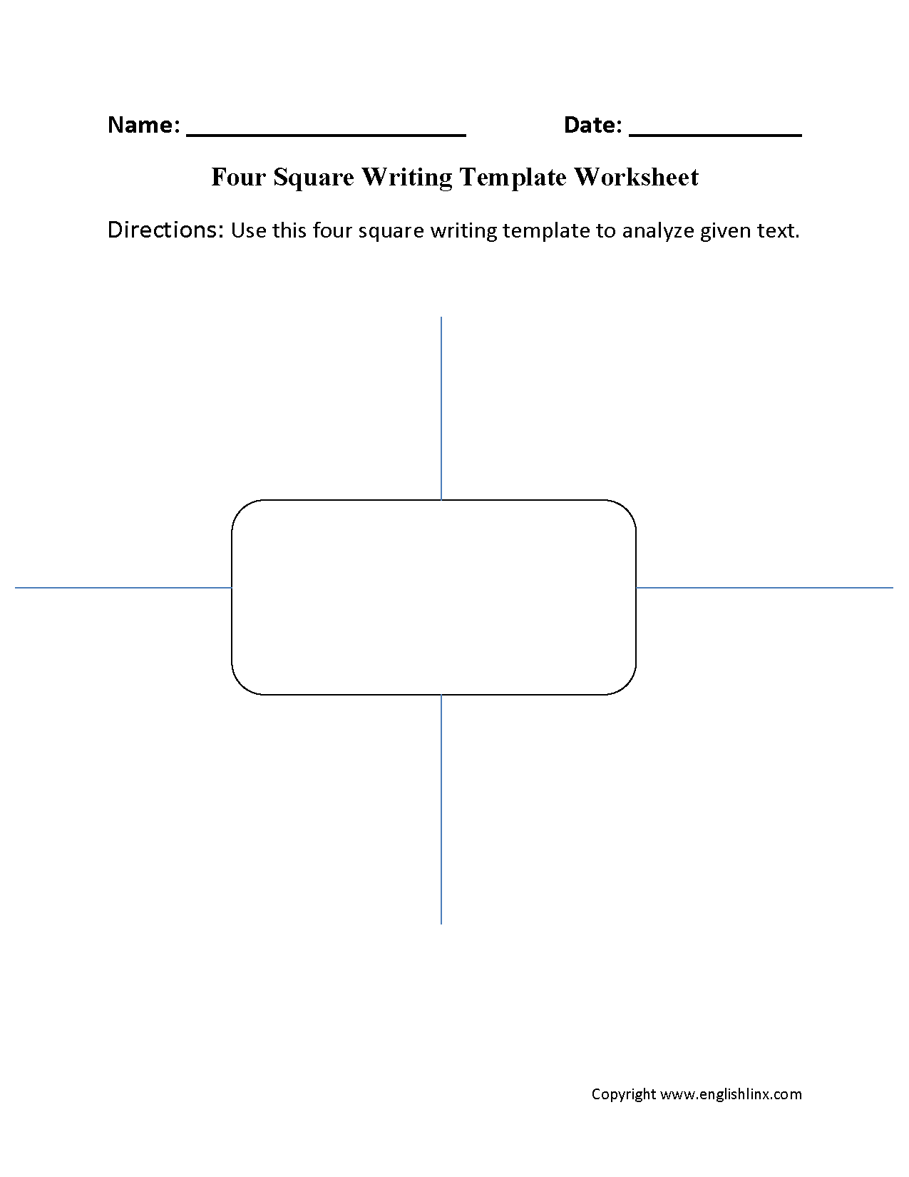 Worksheet Four Square Worksheet Grass Fedjp Worksheet