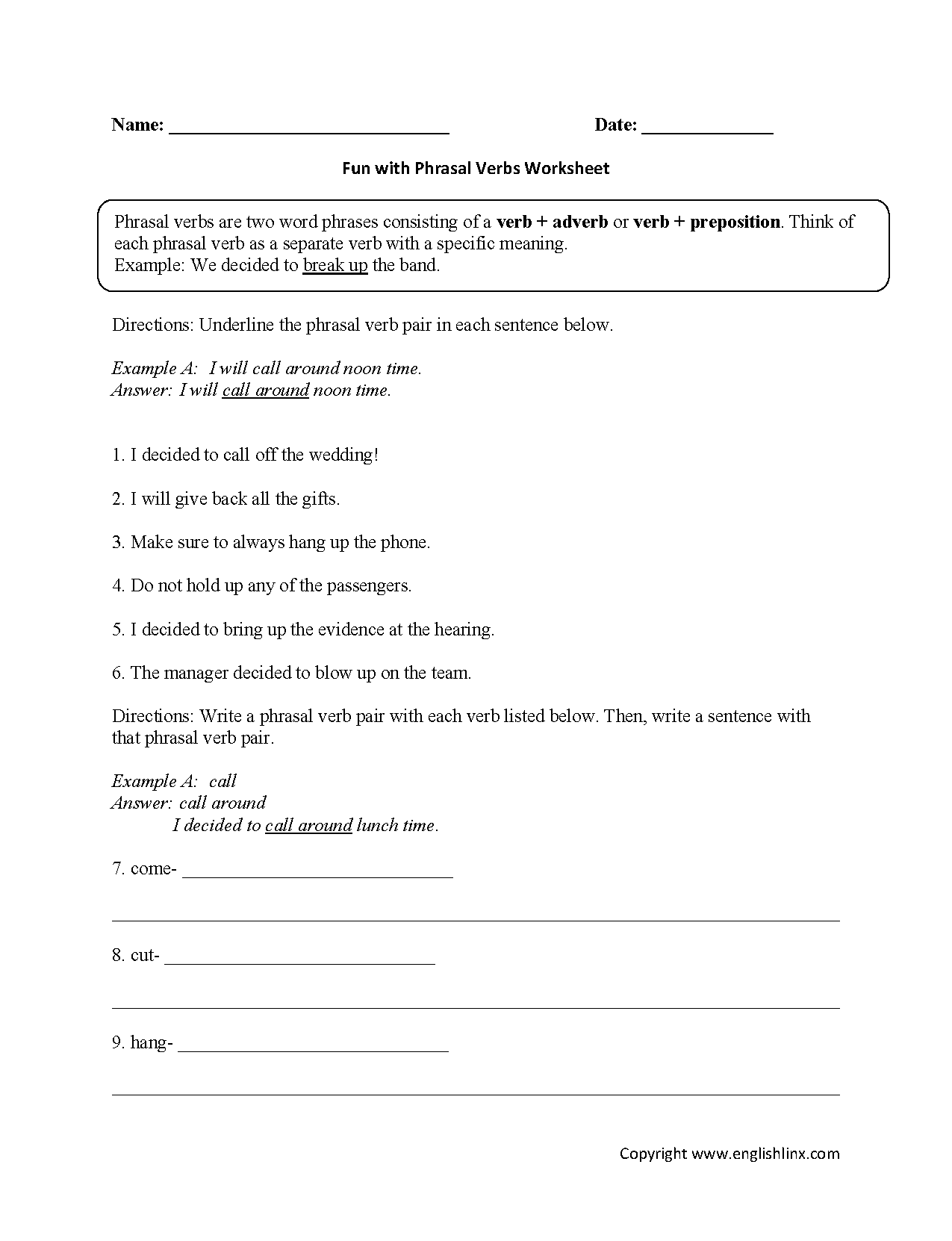 Worksheet Verb Phrases Worksheets Grass Fedjp Worksheet Study Site