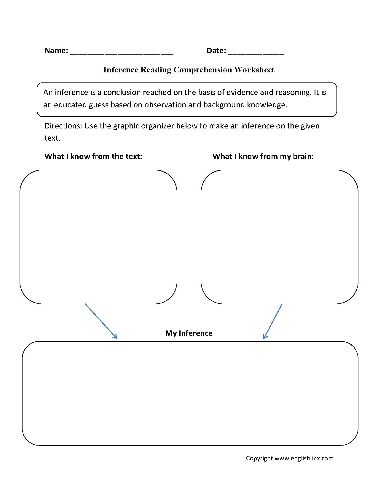 9th Grade Main Idea Worksheet