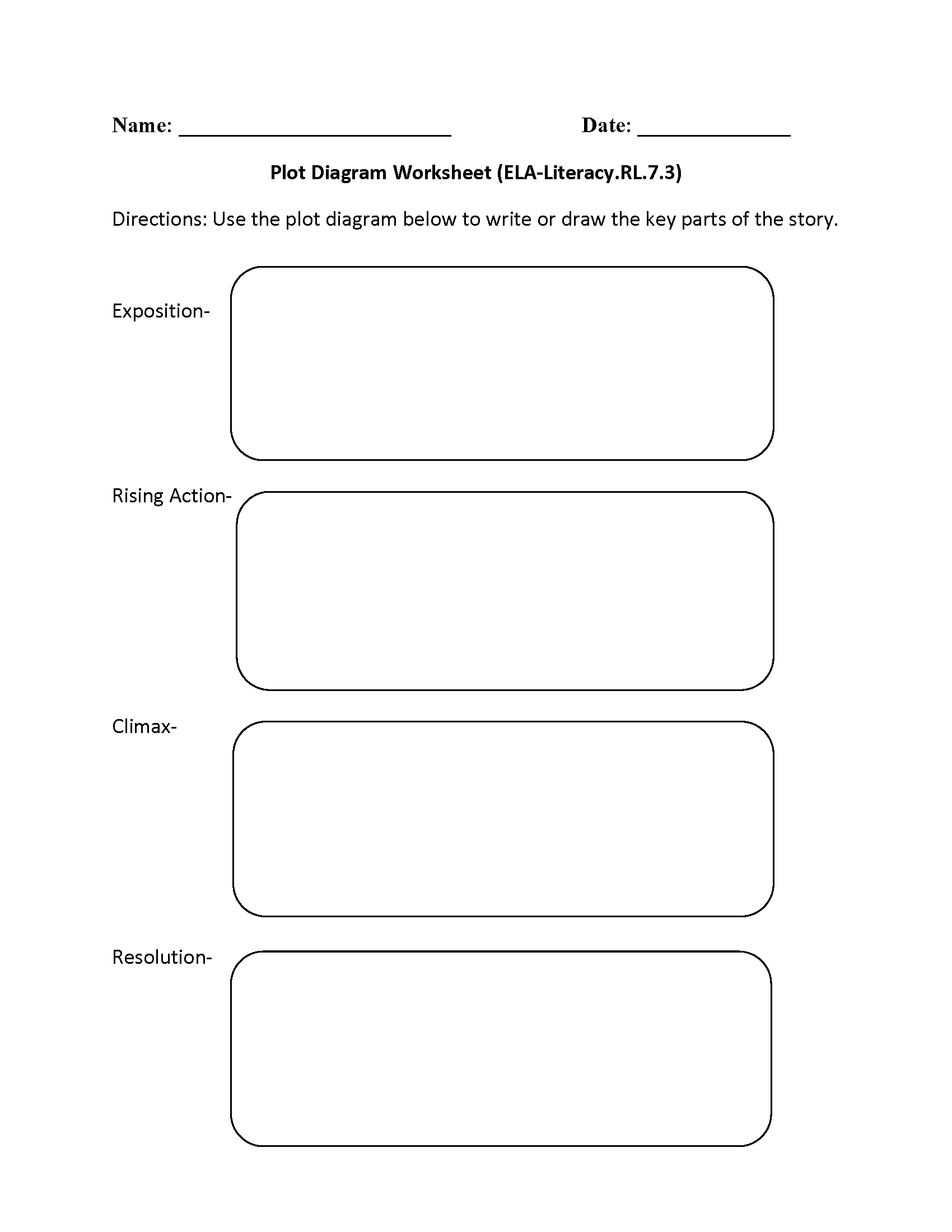 Charts And Diagrams Worksheet