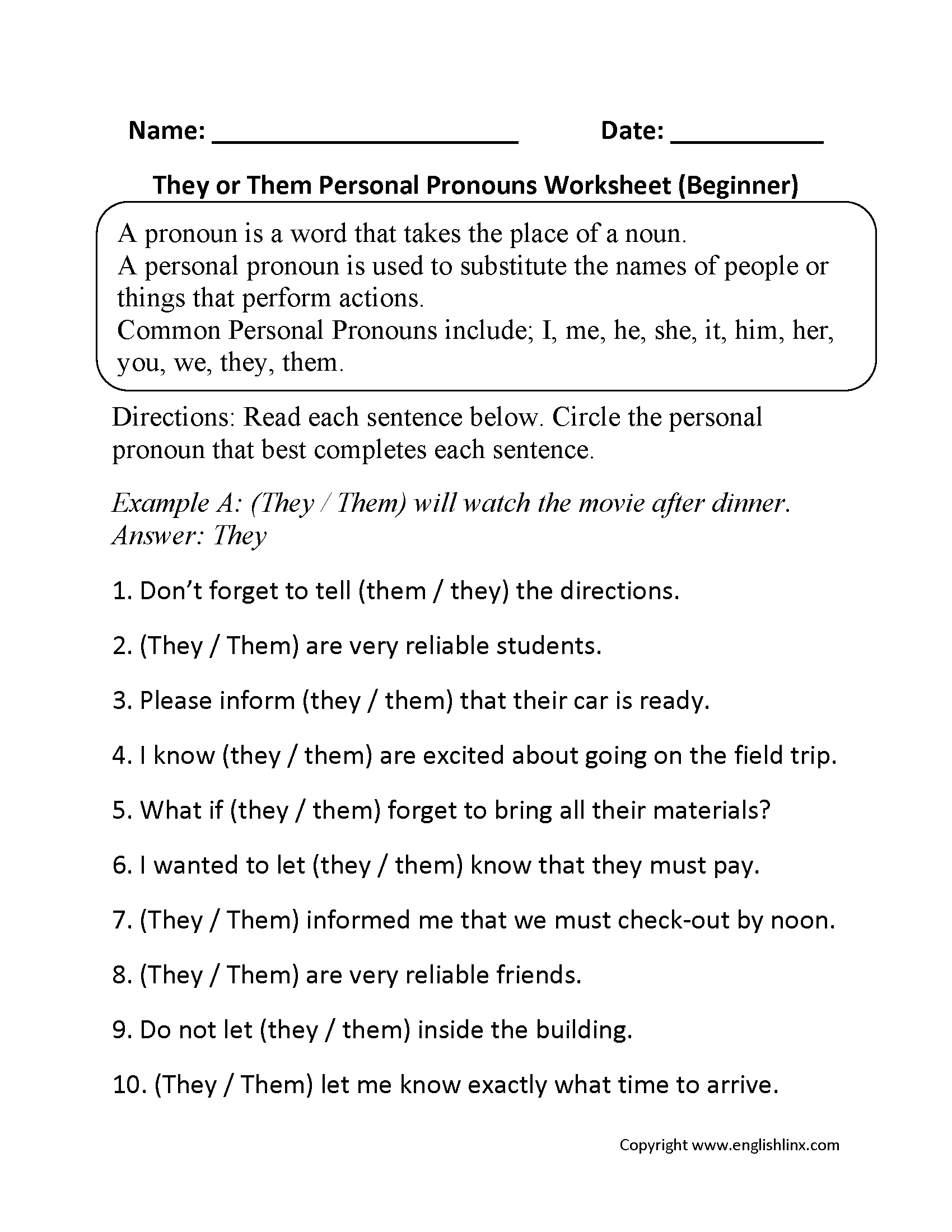 Worksheet Subject Pronouns In Spanish Worksheet Grass