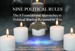 9 Laws of Asatru Politics